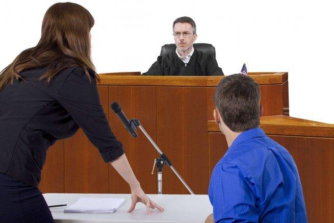 слушание дела в суде