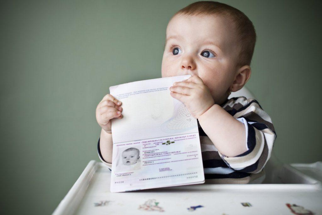 Прописка малыша после рождения